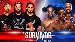 [Fixed] The Shield Vs The New Day At Survivor Series 2017 Match Cards Predictions