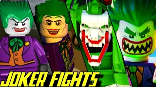 getlinkyoutube.com-Evolution of Joker Battles in LEGO Batman Games (2008-2017)
