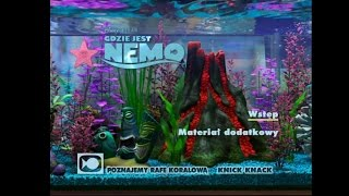 getlinkyoutube.com-Gdzie Jest Nemo (Finding Nemo) Bonus Disc 2 DVD Menu