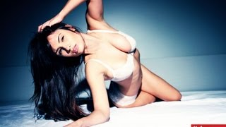 "getlinkyoutube.com-Shay Maria in White Lingerie ""Rolling Deep"""