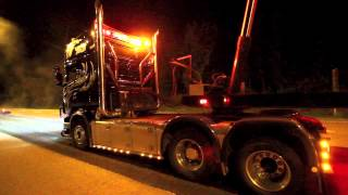 getlinkyoutube.com-Scania R730 Road work