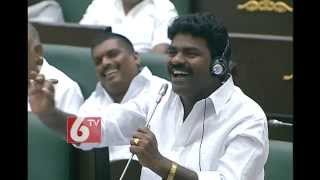 getlinkyoutube.com-MLA Rasamayi Balakrishna song on KCR Deeksha in Telangana Assembly