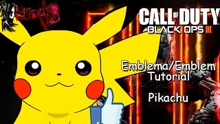getlinkyoutube.com-Black Ops 3 | Pikachu | EMBLEM/Emblema Tutorial | Pokémon