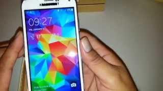 getlinkyoutube.com-Unboxing HDC Galaxys S5 G900  MTK6582