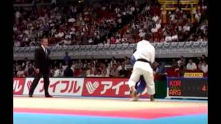 getlinkyoutube.com-Choi Min-Ho Judo HL 최민호 柔道 -60kg