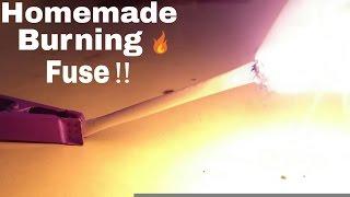 How To Make Burning Fuse