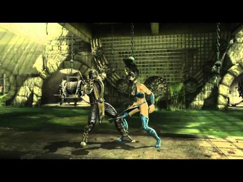 Mortal Kombat 9 - Combo Trailer: Liu Kang Demonstration
