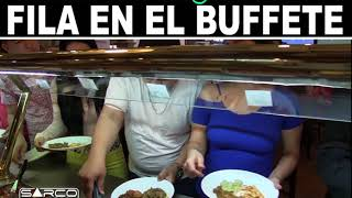 El que se mete en la fila del buffete | Sarco Entertainment