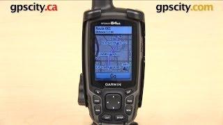 getlinkyoutube.com-Garmin GPSMAP 64 Series: Creating a Route with GPS City