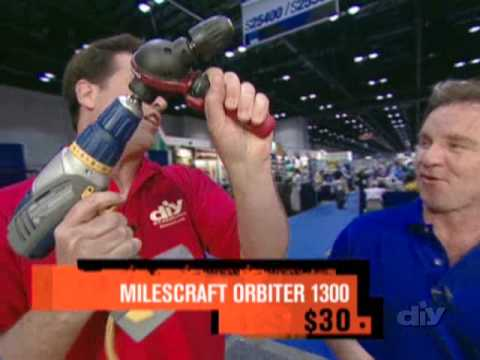 Right Angle and Multi-Angle Drill/Driver Attachments from Milescraft on diy Network