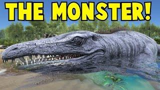 getlinkyoutube.com-The Monster! Mosasaurus Ark Survival Evolved