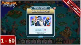 getlinkyoutube.com-Monster Legends - Unlock Lv 1 to Lv 60 in 10 minutes (No Hack)