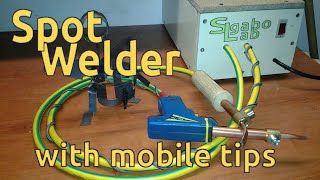 How to DIY Spot Welder 667Amper with mobile tips - build from microwave transformer