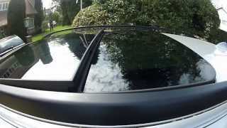 getlinkyoutube.com-BMW Sunroof, Moonroof, Panoramic sunroof problems, Roof won't close FIX PART 1