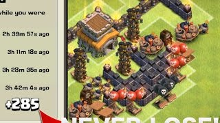"""getlinkyoutube.com-Clash of Clans - """"NEW"""" BEST Town Hall 8 (TH8) Trolling Base With Air Sweeper"""