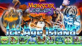 getlinkyoutube.com-(TEST) Ice Age Island - Monster Legends