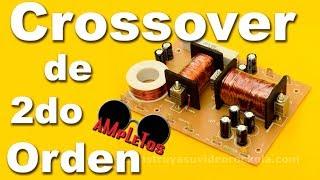 getlinkyoutube.com-Divisor de frecuencias pasivo de 3 vías de segundo orden parte1