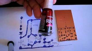 getlinkyoutube.com-How to make circuit boards fast - Dx way