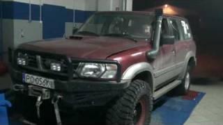 getlinkyoutube.com-Nissan Patrol turbo Y61 big turbo  garrett gt-28