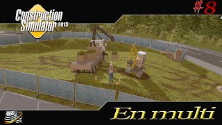getlinkyoutube.com-CONSTRUCTION SIMULATOR 2015 / Episode 8 / MULTIJOUEURS