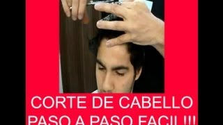 getlinkyoutube.com-Corte Basico Masculino - Basic Haircut Man