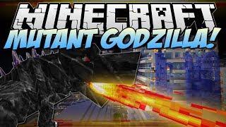 getlinkyoutube.com-Minecraft | MUTANT GODZILLA! (Can You Take Down The BEAST?!) | Mod Showcase [1.6.4]
