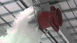 getlinkyoutube.com-Aircraft Hangar Foam Fire Suppression Test - Prince George.wmv