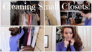 getlinkyoutube.com-Organizing Small Closets