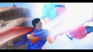 getlinkyoutube.com-Songoku vs Superman 2 . Songoku đánh nhau biệt tử với Superman. Xem ai thắng :)