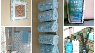 getlinkyoutube.com-DIY Small Bathroom Makeover Relax inspired Design Ideas