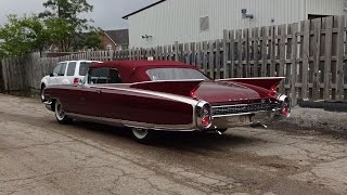 getlinkyoutube.com-1960 Cadillac Eldorado Biarritz Convertible in Red & Engine Sound on My Car Story with Lou Costabile
