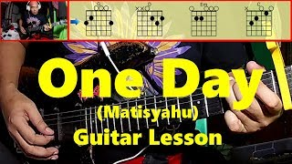 One DAy (Matisyahu) version of Bugoy Drilon Guitar Tutorial | Bisaya