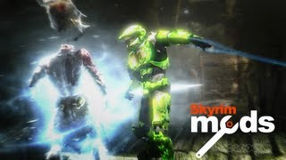 getlinkyoutube.com-Master Chief's Gonna Rip Your Heart Out! - Top 5 Skyrim Mods of the Week
