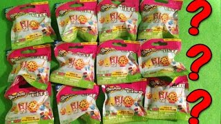 getlinkyoutube.com-Shopkins Micro LITE Blind Bags Surprise Bags Set of 12 Opening (Shopkins Micro LITE Series 1)