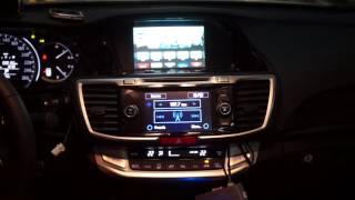 getlinkyoutube.com-Honda Accord 2014 Mirroring Iphone5 with Apple TV