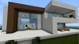 getlinkyoutube.com-Modernes Minecraft Haus - My Best Modern House