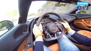 getlinkyoutube.com-2017 Audi R8 V10 Spyder (540hp) - Handling DRIVE (60FPS)
