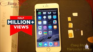 getlinkyoutube.com-How to use Standard SIM in iPhone 6 Plus | make Nano SIM | metroPCS | T-Mobile