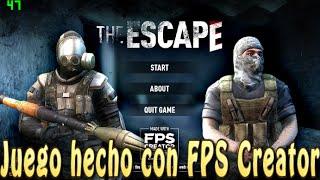 getlinkyoutube.com-Juego hecho con el FPS Creator: Reloaded - The Escape