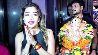 TV Actress Tina Dutta Ganpati Visarjan 2017 Video