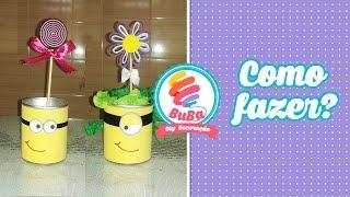 getlinkyoutube.com-Como Fazer Centro de Mesa Festa dos Minions ou Lembrancinha TUTORIAL