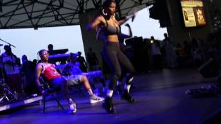 getlinkyoutube.com-Teyana Taylor Gives Stewe A Personal Lap Dance At Summer Jamz 18