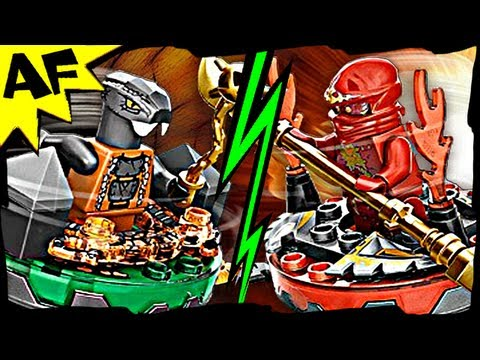 NRG KAI vs CHOKUN 9591 Lego Ninjago Weapon Pack Spinjitzu Ba