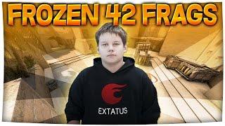 getlinkyoutube.com-14 YEAR OLD GETS 42 KILLS VS PROS IN FPL | frozen (CS:GO)