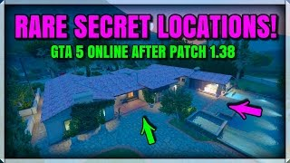 ROCKSTAR DOESNT KNOW THESE 2 RARE SECRET LOCATIONS GLITCHES IN GTA ONLINE!! AFTER PATCH 1.38