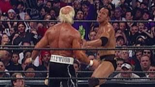 "getlinkyoutube.com-Dwayne ""The Rock"" Johnson battles Hollywood Hogan"
