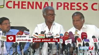 getlinkyoutube.com-Modi must boycott Isha Yoga's meeting : Nallakannu   News7 Tamil