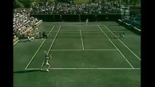 getlinkyoutube.com-Bjorn Borg vs. Rod Laver  1976 Boca Raton , USA
