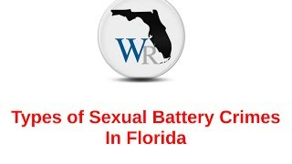 Sexual Battery Crimes