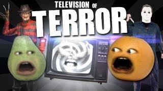 getlinkyoutube.com-Annoying Orange - TV of TERROR!
